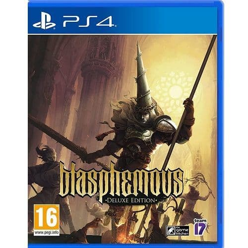 Blasphemous Deluxe Edition PS4 Game
